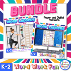 Word Ladders with Pictures - Word Work for Primary Students