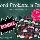 Word Problem a Day - 3rd Grade (Bundle)