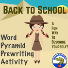 Word Pyramid PreWriting Activity