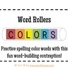 Word Rollers: Color and CVCe Words