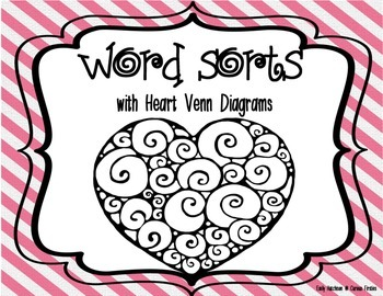 http://www.teacherspayteachers.com/Product/Word-Sorts-with-Heart-Venn-Diagrams-1071420