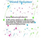 Word Splatter