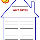 Word Family House