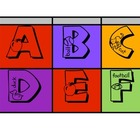 Word Wall Alphabet Headings