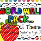Word Wall Pack {Dolch List}...Primary Polka Dots
