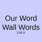 Word Wall PowerPoint - List A Teacher's College List