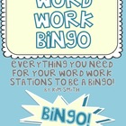 Word Work Bingo! Everything You Need for Your Literacy Cen