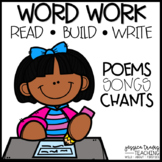 Word Work: Build, Read, & Write!