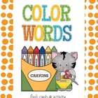 Word Work: Color Words