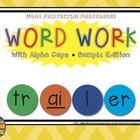 Word Work Freebie {CVC, CVCe, Blends, Word Endings}