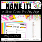 Word Work Game - Name It!