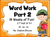 Word Work - Set 2