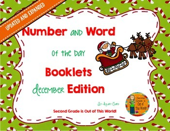 Word and Number of the Day: December Edition