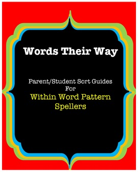 Words Their Way Parent/Student Sort Guides, Yellow Book