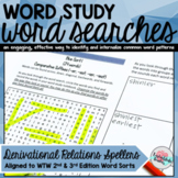 Words Their Way Word Searches Derivational Relations Spellers