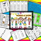 Words at Work... Short Vowels