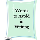 Words to Avoid in Your Writing