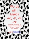 Words with Blends -nd, -st, -nt, -nk