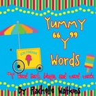 Words with /y/ Literacy Centers- Word Sort, Bingo, Worksheets