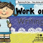 Work on Writing {Beginning the Year Set Up}