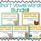 Working with Short Vowels: BUNDLE