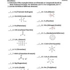 Worksheet: Elements and Compounds #2