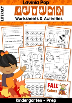 Autumn / Fall Literacy Worksheets and Activities