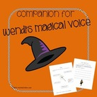 Worksheets for Wendi's Magical Voice (stuttering therapy)