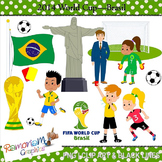 World Cup 2014 Brasil Clipart