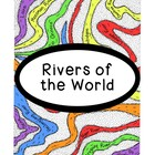 World Geography Research Rivers Continents PDF Social Stud