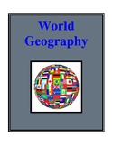 World Geography, Social Studies Activities and Worksheets