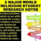World Religions Grid Notes