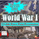 World War 1 Lecture Power Point Presentation