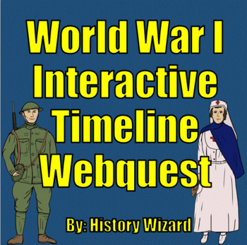 World War I Interactive Timeline Webquest (Great Website)