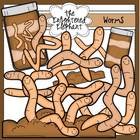 Worms 'n Dirt Clip Art