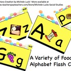 Wormy Alphabet w/Lowercase Letters Flash Cards