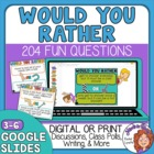 Would You Rather Questions for Kids! 200 Discussion Starters