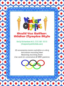Would You Rather: Winter Olympics Style