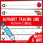 Write And Wipe Cards - Tracing Lines - Alphabet