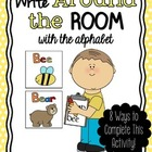 Write Around the Room with the Alphabet