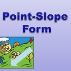 Write Linear Equations in Point Slope Form PowerPoint