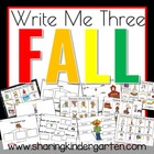 Write Me Three & More Fall Pack