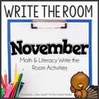 Write On! {20 Math & Literacy Write the Room Activities -
