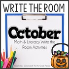 Write On!  {20 Math & Literacy Write the Room Activities-