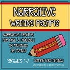 """Write On!"" Narrative Writing Prompts for Real & Imagined"