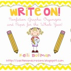 Write On! {Nonfiction} Graphic Organizers and Paper