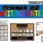 Write On... Thanksgiving
