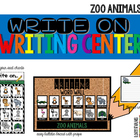 Write On... Zoo Animals