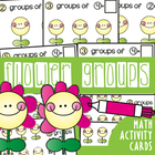 Write and Wipe Cards - Flower Groups - Multiplication