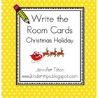 Write the Room-Christmas Holiday Edition